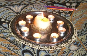 Наш Лунный очаг и желанные свечи... Всё загаданное всегда сбывается ))