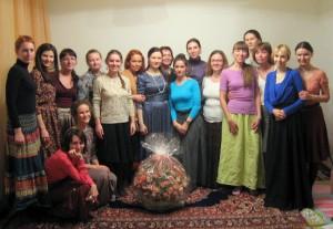Поддерживающая лунная встреча у Тамары (28.11.2014) и волшебный сюрприз от лунных Богинюшек, в котором роз гораздо больше, чем мне накануне стукнуло :))